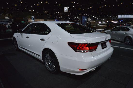 Lexus LS F Sport Los Angeles
