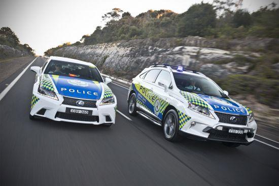 Lexus Police Hi-Vis Hybrids