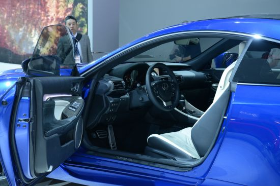 Lexus RC F Detroit