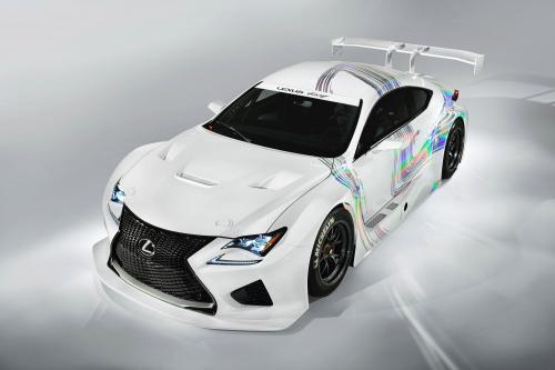 Lexus демонстрирует РЦ Ф GT3 с концепт в Женеве