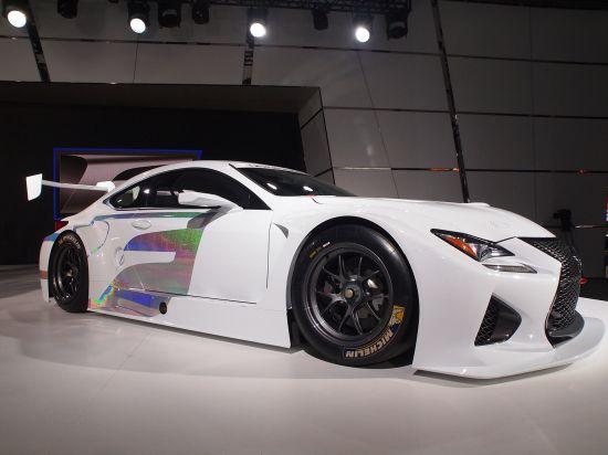 Lexus RC F GT3 RaceCar Concept Detroit