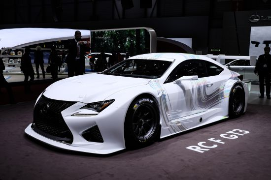 Lexus RCF GT3 Geneva