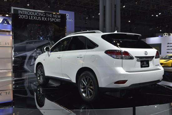 Lexus RX FSport New York