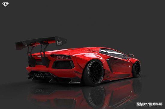 Liberty Walk Lamborghini Aventador LP700-4