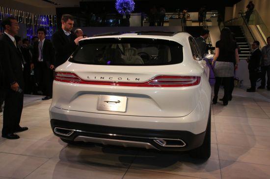Lincoln MKC Concept Detroit