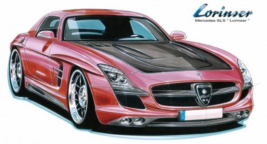Lorinser Mercedes-Benz SLS AMG Gullwing