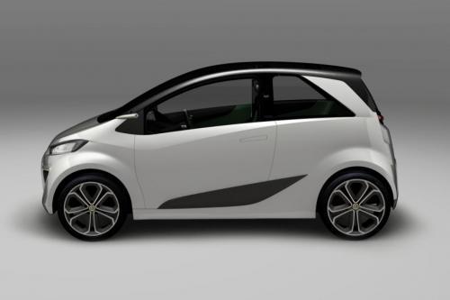 Lotus City Car Concept - компактный и практичный