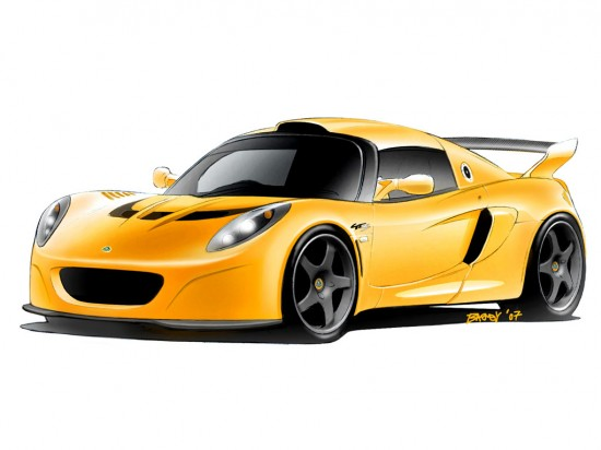 Lotus Exige GT Concept Road Vehicle