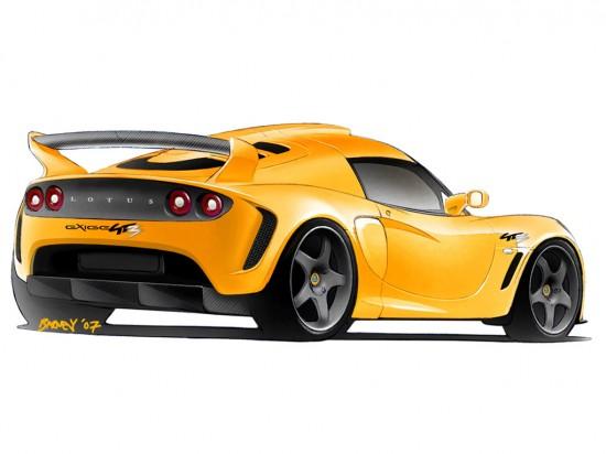 Lotus Exige GT Concept Road Vehicle