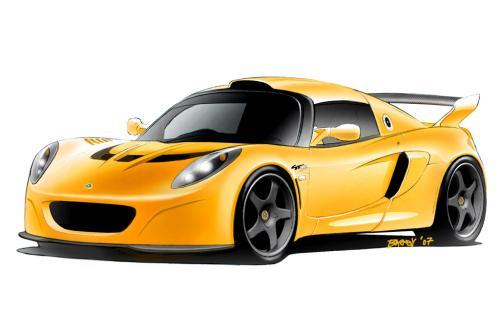 Lotus Exige GT3 Concept дорожного транспортного средства