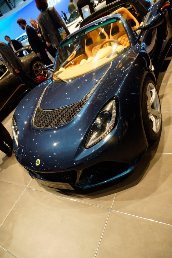 Lotus Exige S roadster Geneva