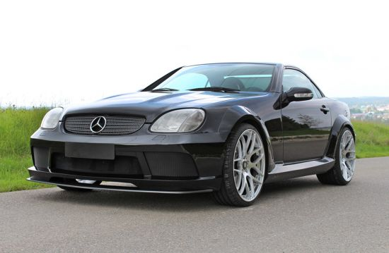 lumma tuning mercedes benz slk r170 picture 110571. Black Bedroom Furniture Sets. Home Design Ideas