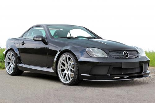 lumma tuning mercedes benz slk r170. Black Bedroom Furniture Sets. Home Design Ideas