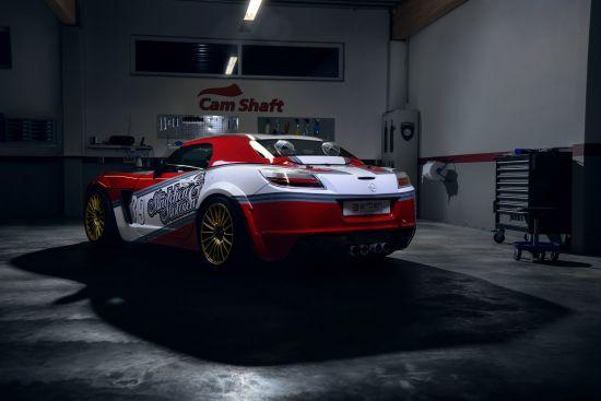 Maedchen And Motoren Opel GT
