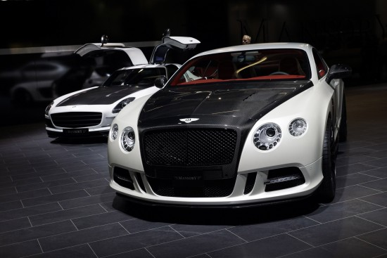 Mansory Bentley Continental GT Frankfurt