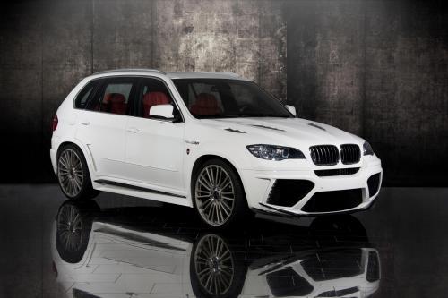 BMW X5 E70 refined by MANSORY