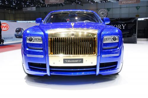 Mansory Ghost - самый эксцентричный Rolls-Royce когда-либо