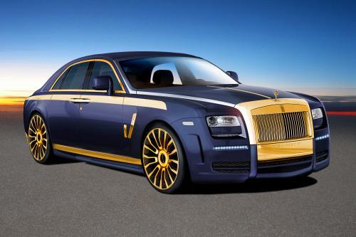 Еще множество фотографий Mansory Ghost от Rolls-Royce