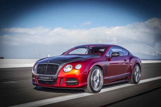 Mansory Sanguis Bentley Continental GT