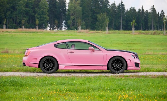 Mansory Vitesse Rose Bentley Continental GT