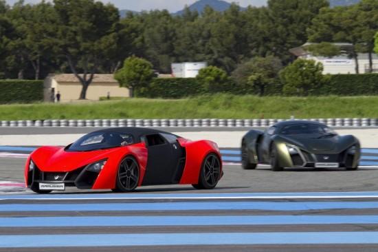 Marussia B1 & B2