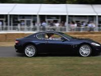 James Martin drives the new GranTurismo S Automatic at Goodwood Festival of Speed