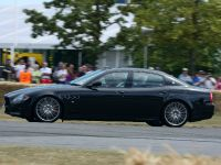 Nick Mason in the Maserati Quattroporte Sport GTS