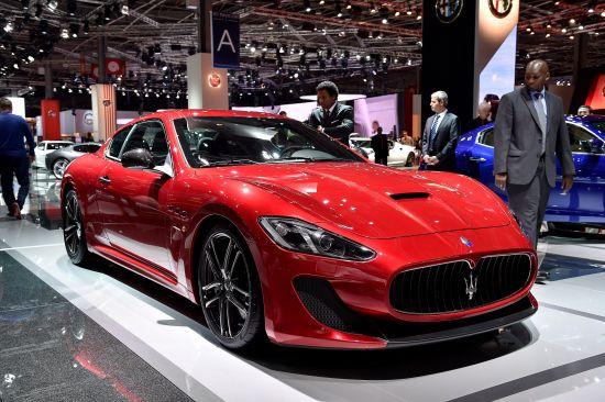 Maserati Gran Turismo MC Stradale Paris