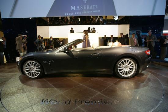 Maserati GranCabrio Frankfurt