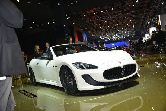 Maserati GranCabrio MC Paris