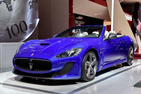 Maserati GranCabrio Paris