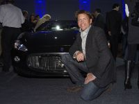 Celebrity Chef James Martin and the Maserati GranCabrio