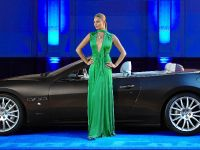 Supermodel Jodie Kidd and the Maserati GranCabrio