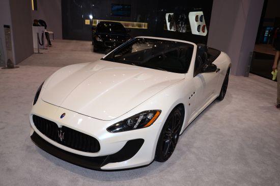 Maserati GranTurismo Convertible MC Chicago