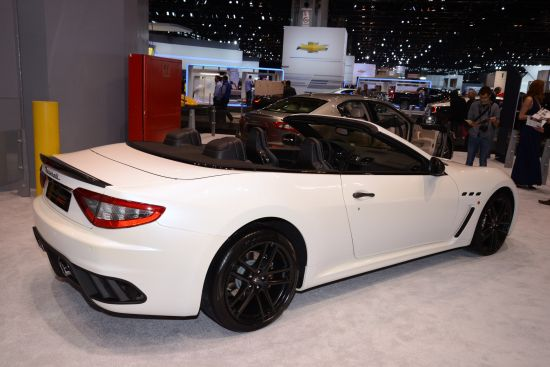 Maserati GranTurismo Convertible MC Chicago