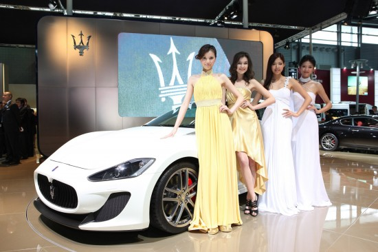 Maserati GranTurismo MC Shanghai