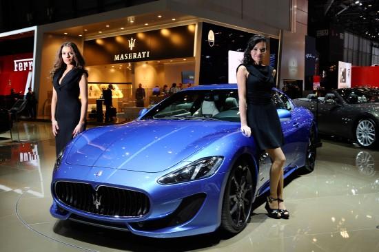 Maserati GranTurismo Sport Geneva
