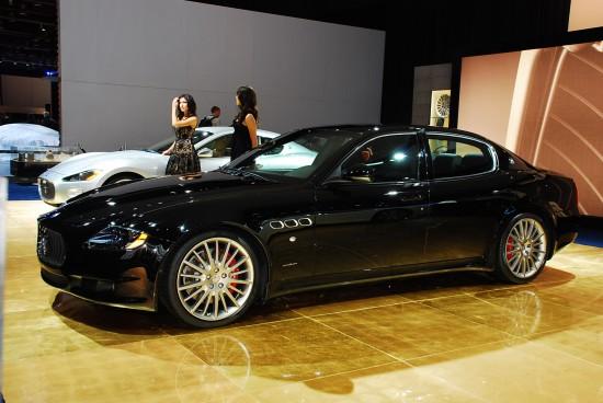 Maserati Quattoporte Sport GT S Detroit