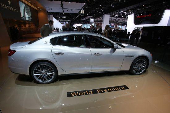 Maserati Quattroporte Detroit
