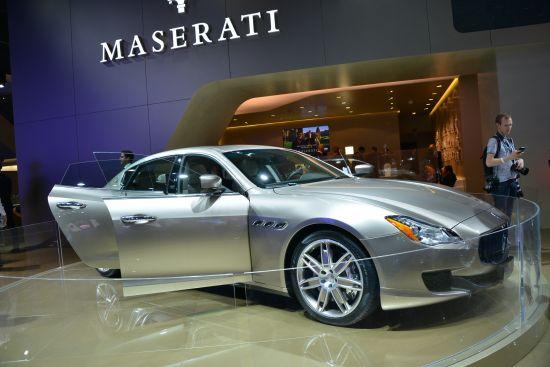 Maserati Quattroporte Frankfurt