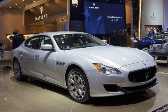 Maserati Quattroporte Geneva