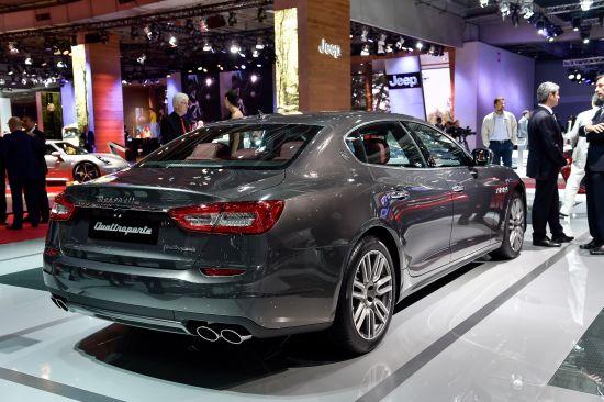 Maserati Quattroporte Paris