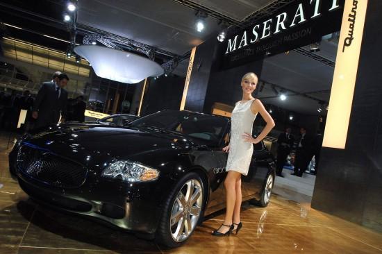 Maserati Quattroporte Sport GT S Frankfurt