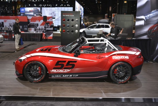 Mazda 2016 Global MX-5 Cup Race Car Chicago