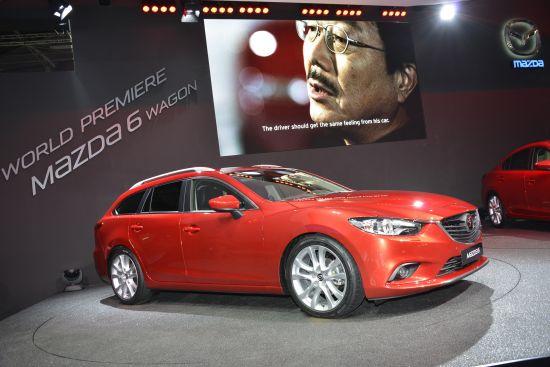Mazda 6 Estate Paris