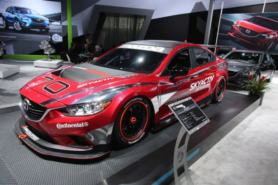 Mazda 6 Grand-Am Road Racing GX Championship Detroit