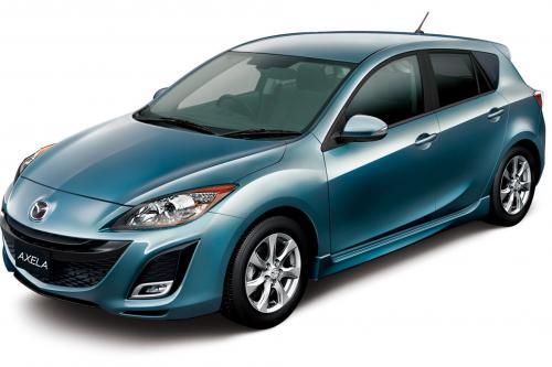 Mazda открывает специальный 90-летию издания Mazda3 и Mazda Biante