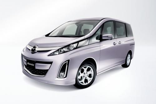 Mazda Выпускает Новый Минивэн Biante