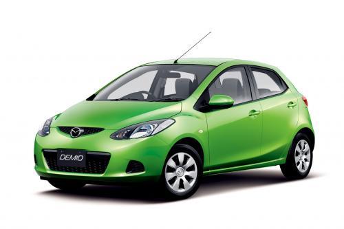 Mazda Улучшает Динамические Демио