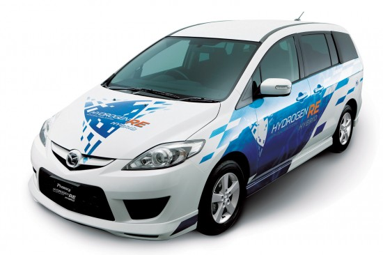 Mazda RX 8 Hydrogen RE & Mazda Premacy Hydrogen RE Hybrid